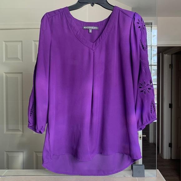 Purple Brixon Ivy Blouse